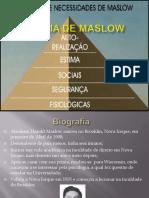 TEORIA DE MASLOW_ANÁLISE