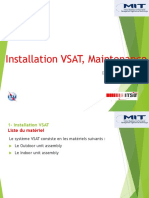 Lecon 3 Installation VSAT, Maintenance
