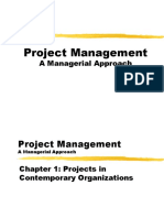 Ch1 Projects in Contemporary Organizations