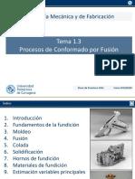 Tema 1.3 Procesos de Conformado por Fusión (1) (1)