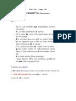Edito B1. Page 136. Lessentiel