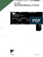 Yasnac J300 Connecting Manual (Type B)