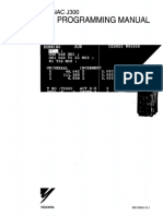 Yasnac J300 PLC Programming Manual