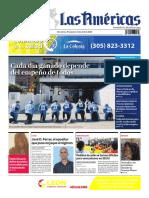 DIARIO LAS AMÉRICAS Edición impresa del 10 al 16 de abril de 2020