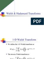 L10_Walsh & Hadamard +Haar Transforms