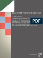 Propunere tehnica Targoviste consolidare