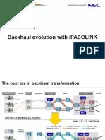 Backhaul Evolution With IPASOLINK