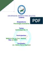 TEMA 5 PSICOLOGIA EVOLU. WALKIRIS 11-04-2013