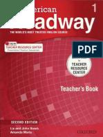 American Headway 1 - Teacher's Book - Second Edition