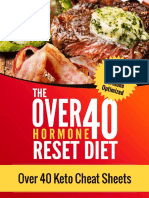 Over 40 Keto Cheat Sheets