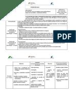 Planificação aula  2020 Fátima Teixeira