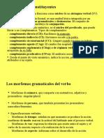 Unidad 5 Apóstrofe XXI - Categorías  gramaticales_ el sintagma verbal
