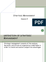 Strategic Management(1)