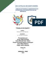 TRABAJO DE INTRODUCCIONA  LOS NEGOCIOS