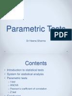 parametrictests