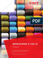 Colour shade card Bemacron-S-SE-E