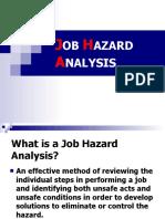 Job Hazards Analysis (cst)