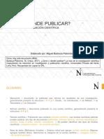 Cómo y dónde publicar la ruta de la investigación científica.pdf