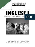 Languages - Pimsleur English for Italian Speakers I - Libretto di Lettura.pdf