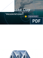 Earthquake Day Presentation
