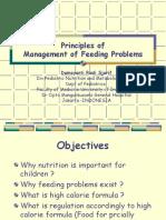 Feeding Problems Management Wyeth 2013