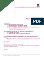 Apunte de cátedra (OBLIGATORIO)  Introducción filosófica y epistemológica a la Psicología