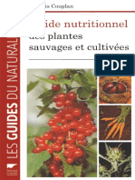 EBOOK Francois Couplan Guide nutritionnel des plantes sauvages et cultivees