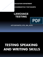6. A. Testing Speaking and Writing Skills .pptx