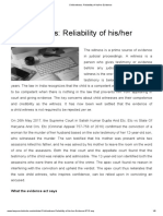 Child witness_ Reliability of his_her Evidence