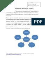 Teorías funcionalistas en Sociología Jurídica 26 oct 2019