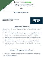 Aula_06_ Introdução a Higiene e Segurança no Trabalho_Riscos Profissionais_10-08-2018_MFT-1