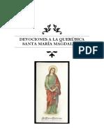 Devocionario a Santa María Magdalena