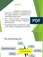 3. Marketing Mix