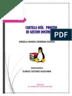 EVIDENCIA- GESTION DOCUM-ARCHIVO  ANGELA HERRERA RUEDA