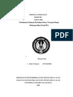 Proposal Penelitian Terong PDF