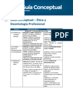 Guía conceptual Deontología Profesional