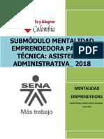 1. CARTILLA GUÍA MENTALIDAD EMPRENDEDORA 2018