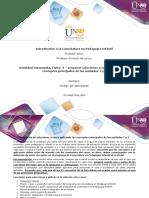 Formato 2- Formato para elaborar el trabajo de soluci+¦n de casos con conceptos principales de las unidades 1 y 2