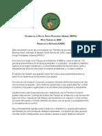 Documento - Conclusiones del Plenario de la RAPU - 29 de febrero de 2020
