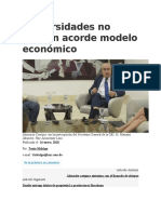 Universidades no forman acorde modelo económico