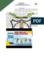 ACTIVIDAD 10    Redes Sociales