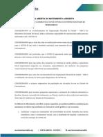 Carta Aberta - Acredito Estadual - Vf