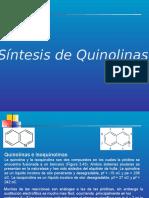 265500753-QUINOLINAS-E-ISOQUINOLINAS-SINTESIS-pptx