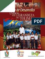 Plan de desarrollo unidos por la grandeza del Tolima 2012-2015..pdf