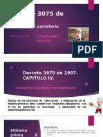 Decreto 3075 de 1997 presentación