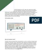 History of Transistors