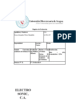 Actividad 4. Informe Final de Auditoria. Oscar Perez. C.I. 26.946.187