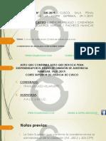 CASACION  320-2019  SPT -AUTO DE CALIFICACION -IVAN GOMEZ TORRES