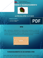 Progetto Antena RFID UNICAL