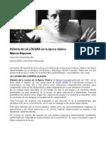 4. Foucault - Historia de La Locura en La Época Clásica
